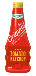 Our Original Tomato Ketchup in der 500ml Squeeze-Flasche, Tomaten Ketchup, vegetarisch, vegan
