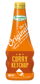 Our Original Curry Ketchup in der 500ml Squeeze-Flasche, vegetarisch, vegan