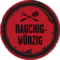 Icon Develey runder Sticker rauchig würzige BBQ Sauce
