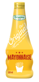 Our Original Mayonnaise in der 500ml Squeeze Flasche von Develey, vegetarisch